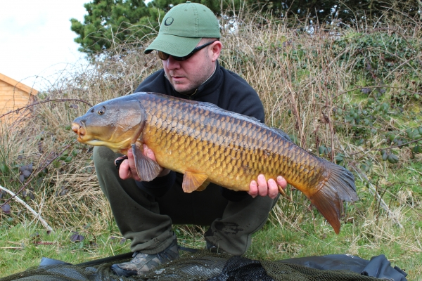 A nice common on the new hook baits at my 'pasty' pool