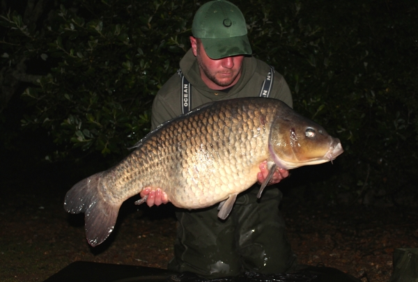 At 33.08lb I was so pleased, a healthy summer weight for this fish