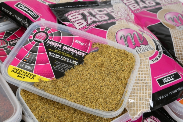 The fine particles in Groundbaits and Stick Mixes are perfect dispersing attraction!