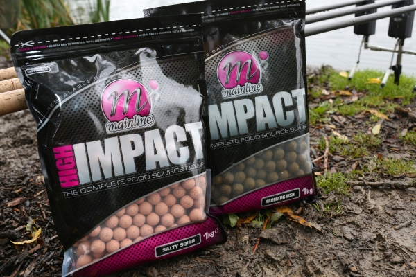 It's just about the fruity flavours – the savoury and fish boilies are equally attractive