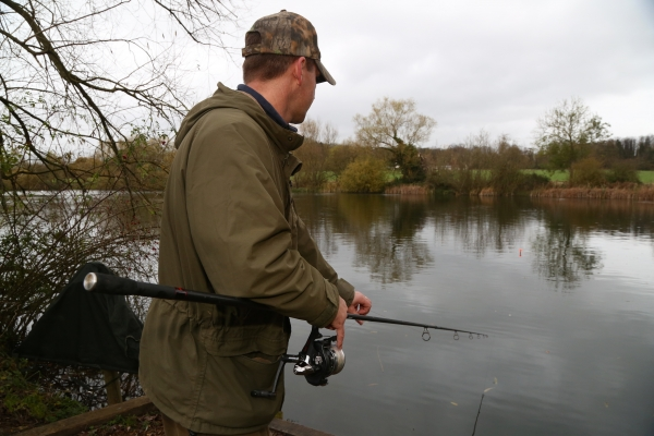 Shallow lakes are some of the best to target in winter
