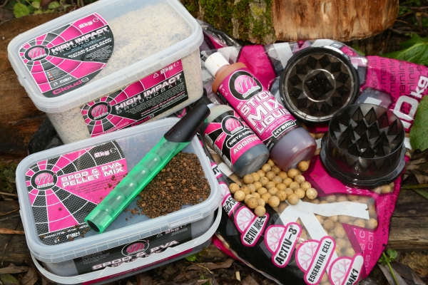 01 Here are all the baits and bits I use to make-up my balls of Groundbait.