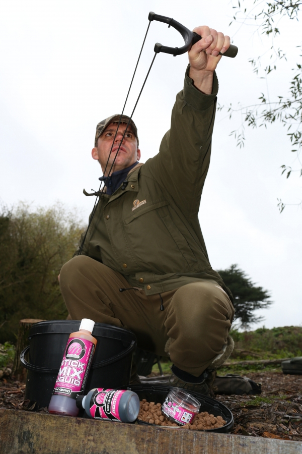 If they're near the top on a shallow lake surface tactics can be a winner - so don't forget some surface bits