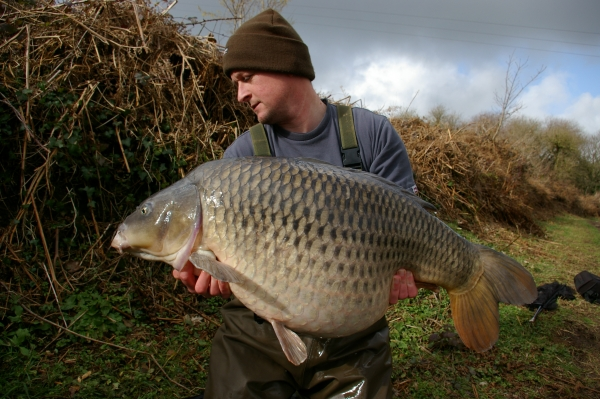 The Silver Common at 38lb 8oz!