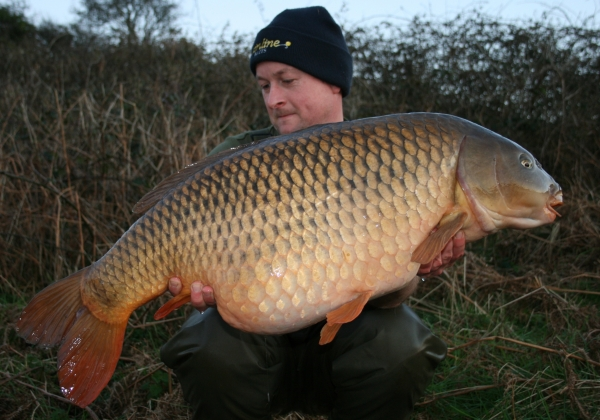 A familiar face – The Parrot Mouth Common the second time around a pound heavier at 35lb 8oz