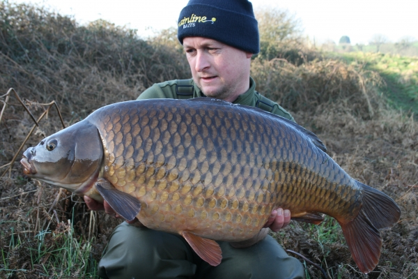27lb 10oz and displaying superb winter condition and colour