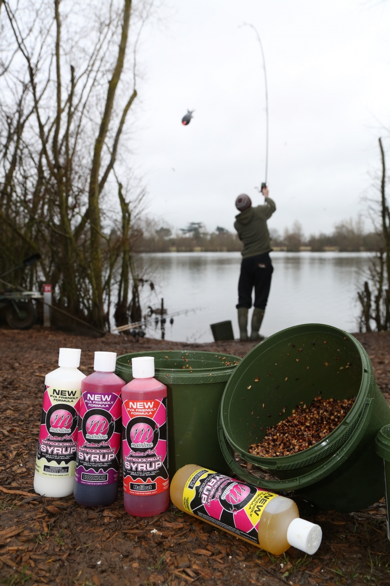 More dense than water, these syrups are perfect for adding to spod mixes and sending a food signal throughout the water column