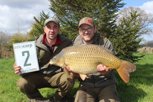Another opportunist Zig bite gave us this bonus 30lb 2oz common