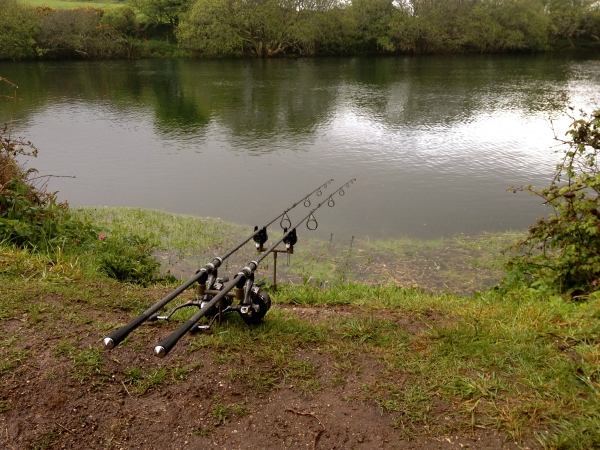 Rods out - before dark this time