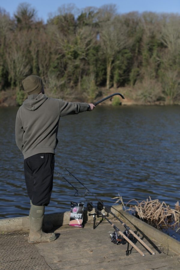 A Balanced Wafter hookbait will react similarly to your freebies – ideal when fishing over a spread of boilies