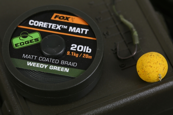A supple coated braid makes the perfect hooklink material for a long wafter rig in choddy, weedy conditions
