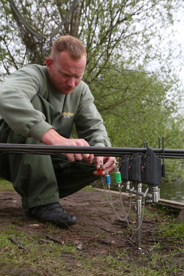 Fish bow tight lines with Zigs for maximum indication!