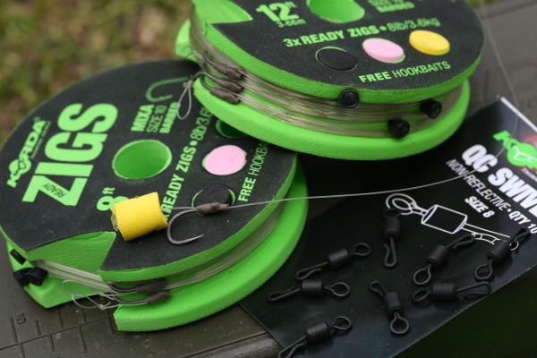These ready tied Zigs are a superb example of how they should be tied