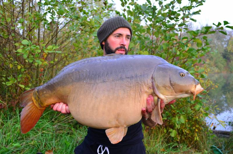Ray with a 37lb fish