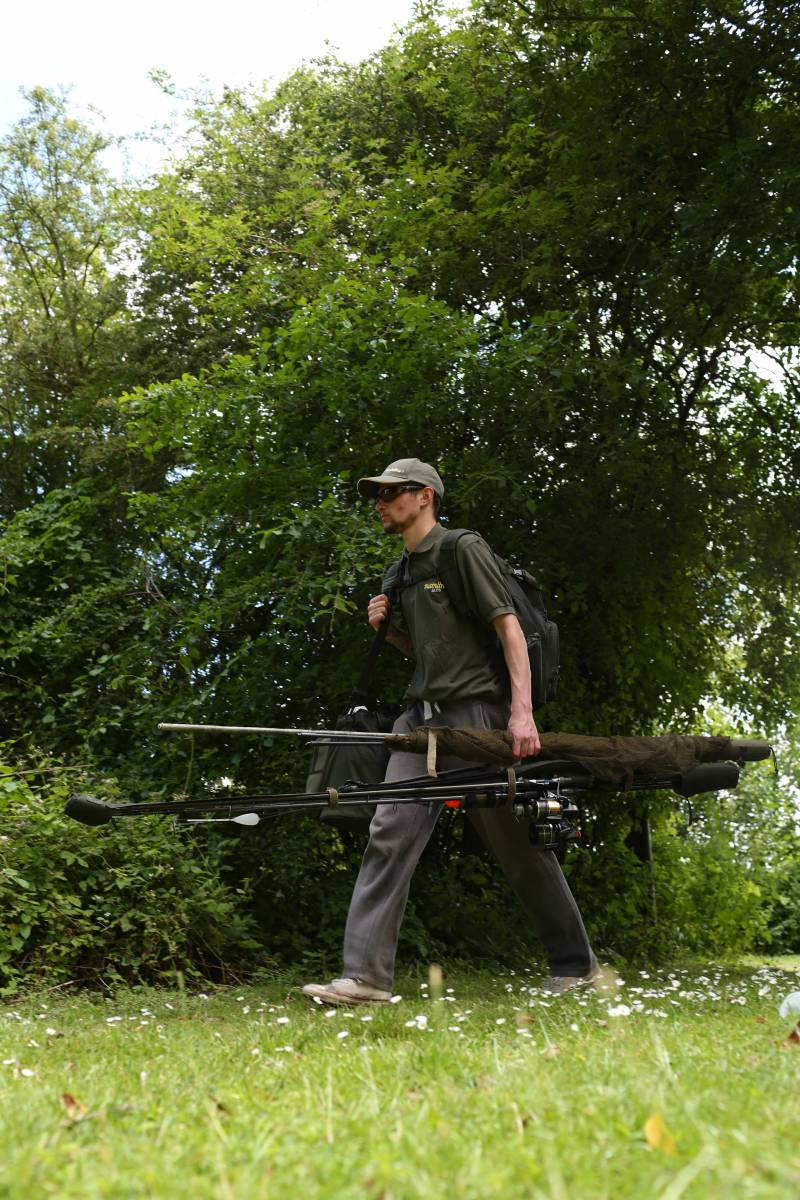 With only the minimum of gear needed, floater fishing is also a very mobile tactic