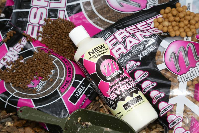 Response Pellets and liquid to boost the Cell boilie flavoured theme of my spod mix
