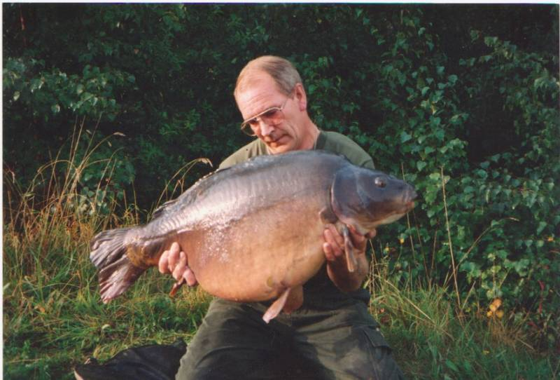 1992: Getting bigger at 41lb 8oz and my PB at the time – this shows you what bait can do!