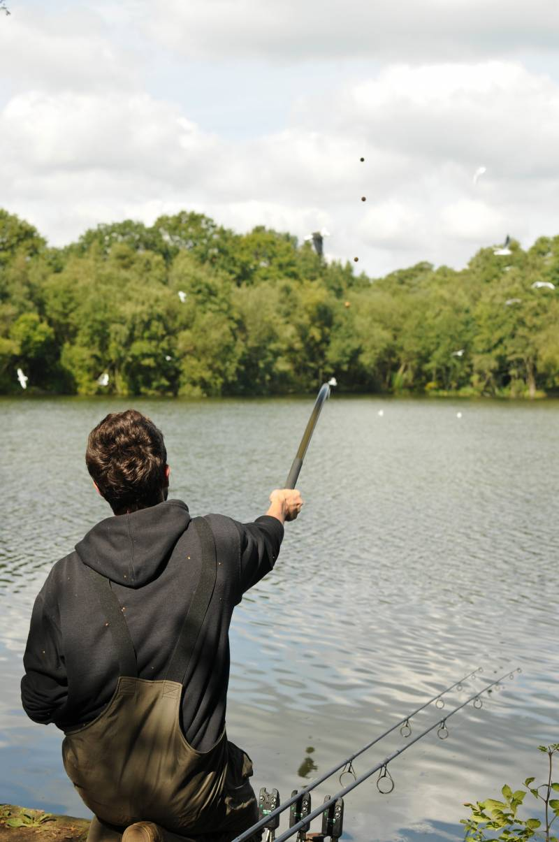 A wide spread of boilies is a tactic that I have used to great effect on many occasions