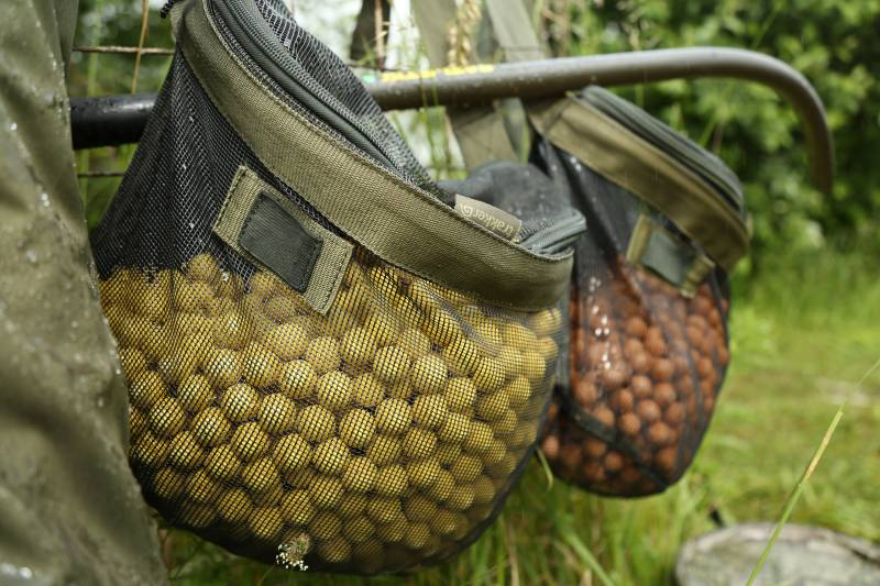 Air drying your baits will harden them and  prolong their life span