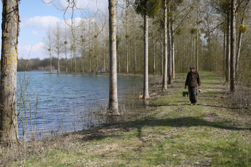 Reeling in and walking the lake is far from wasted time
