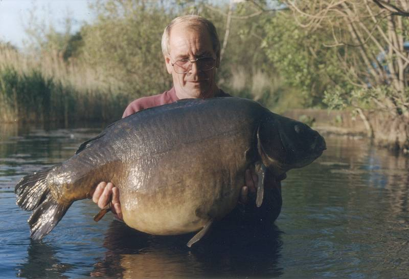 1997: 49lb 4oz from Little Grange, the then Essex record