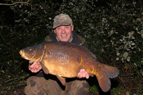 Moving onto showing fish and out of the going swim produced this and three others in one night