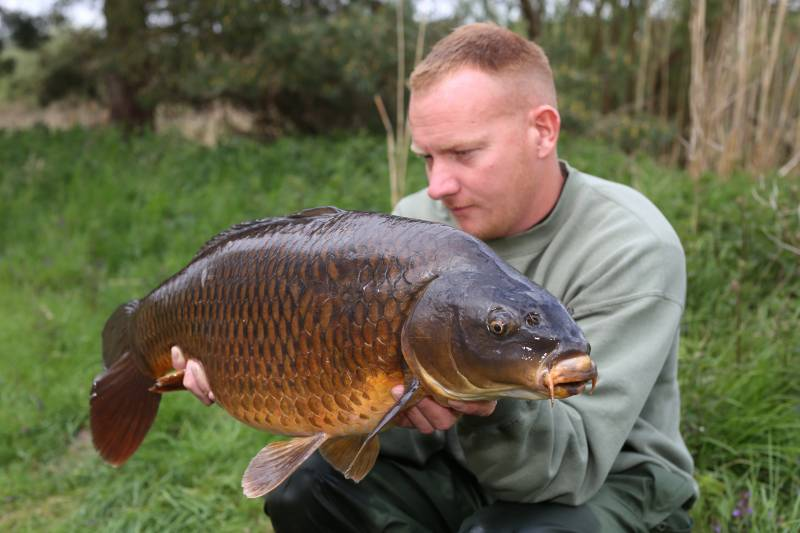 Just one of the fish Wayne has been catching while testing the Souper Zig Mix