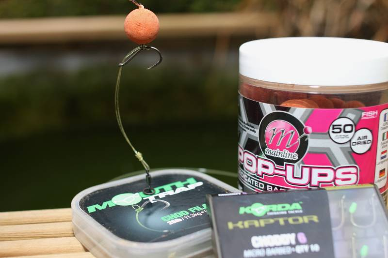 A Chod fished Multi-Rig style could be one answer