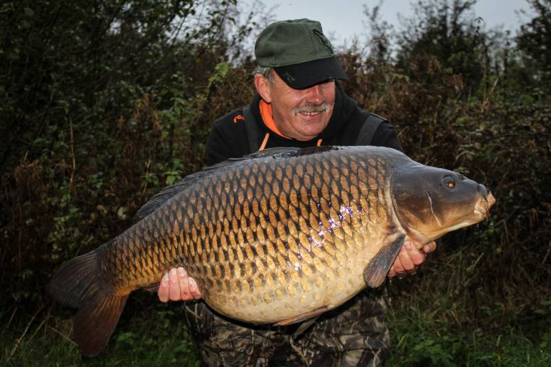 Confidence in my bait just leaves me to worry about where to put it as this 46lb10oz common proves