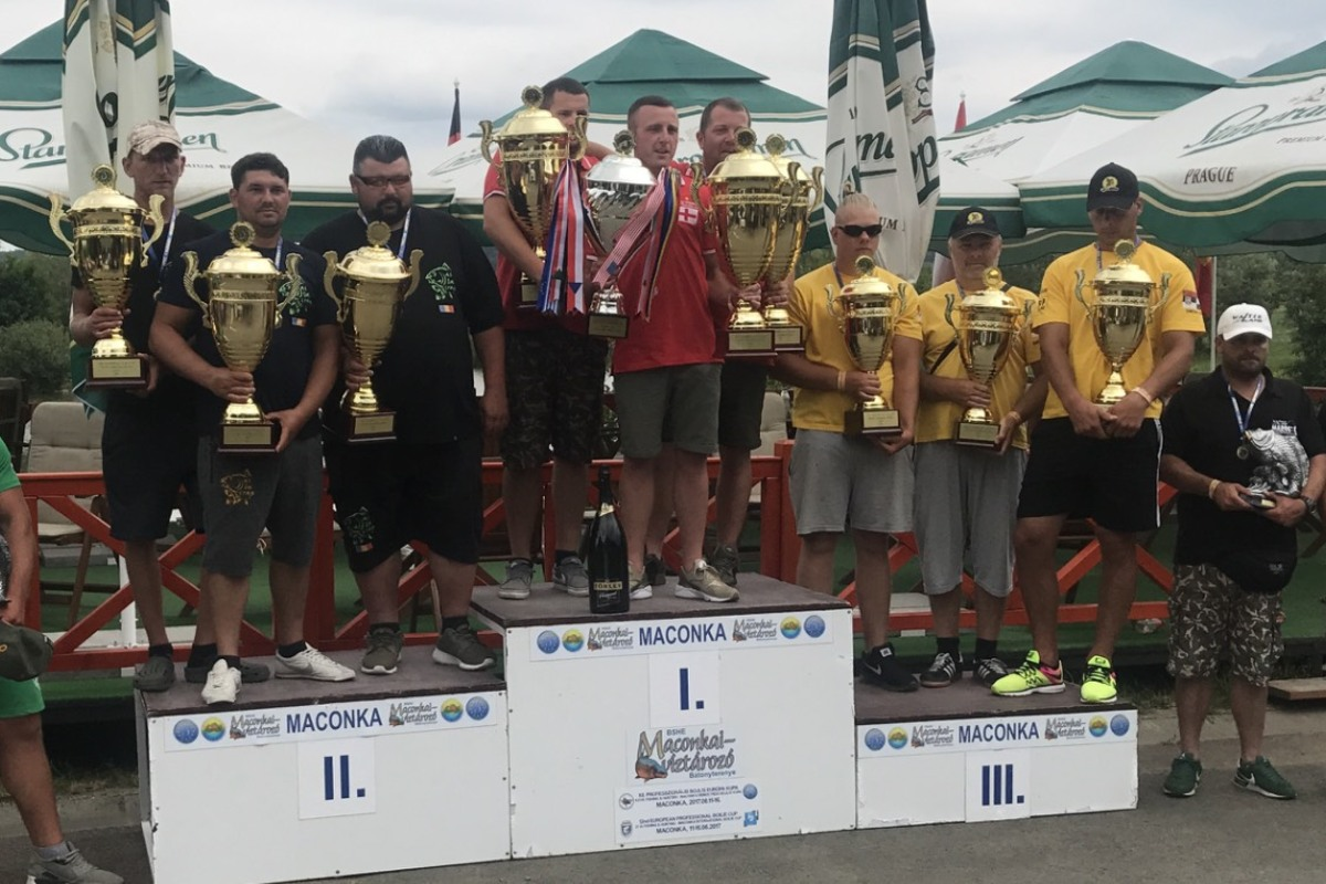 European Professional Boilie Cup Champions