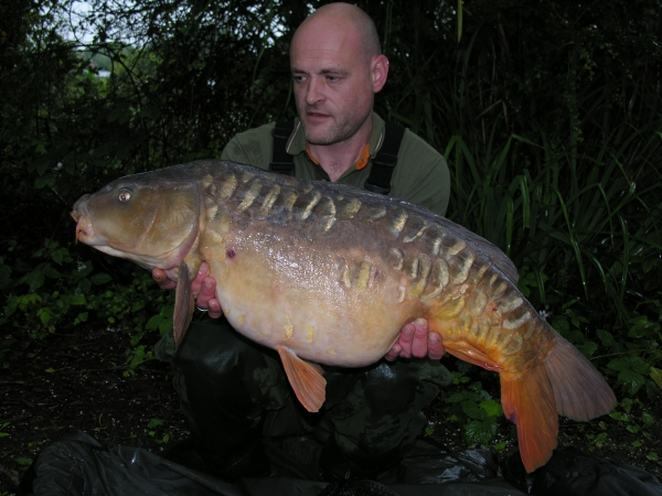 A nice one from one of the club lakes – I hope I'll get to return.