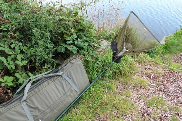 These were put to good use. The Outreach net and the XL Safety sling mat.