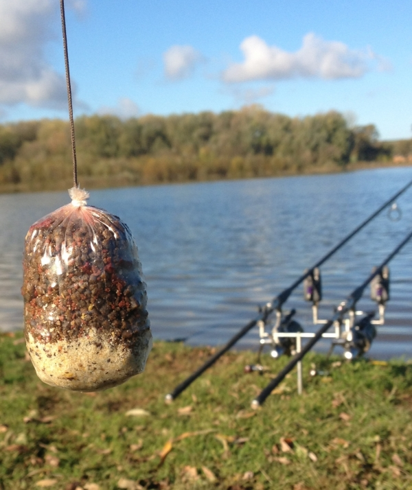 One of my Solid PVA bags ready to go!