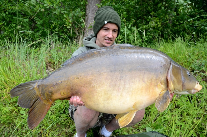 49lb Mirror from the river Seine