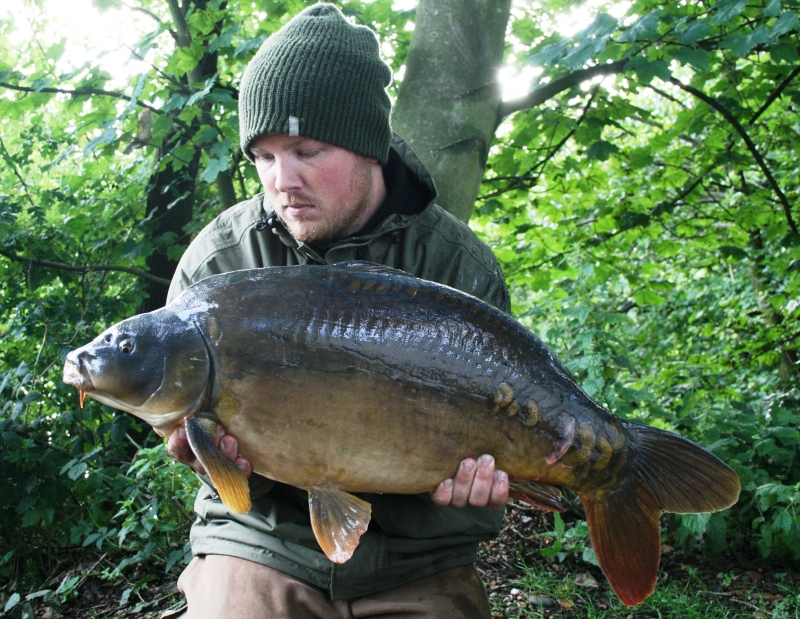 25lb from Norfolk - caught on the Cell