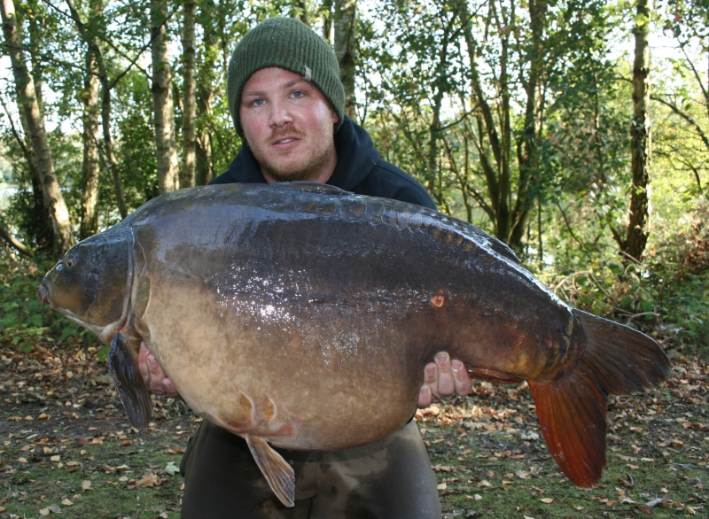 Babyface from Charity Lakes in Norfolk - caught on the Cell.