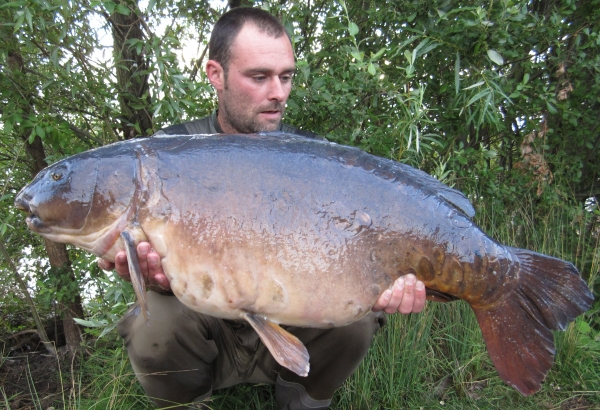 The biggest mirror from my syndicate at 36lb 2oz!