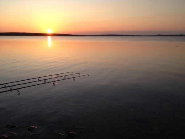 The lake can look like this with stunning sunsets