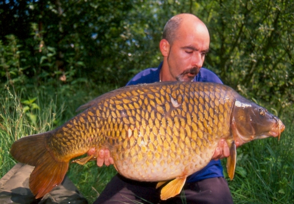 Forty-pounds plus from a Belgian lake caught on Activ-8