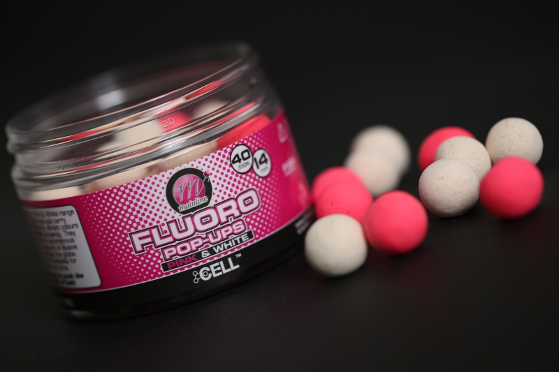 Using a bright hookbait doesn't mean you can't use your favourite food source flavour such as the Cell