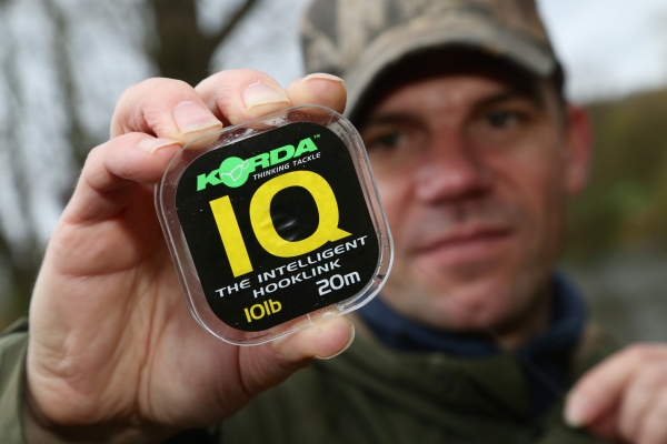 Fluorocarbon is great for the clear water conditions