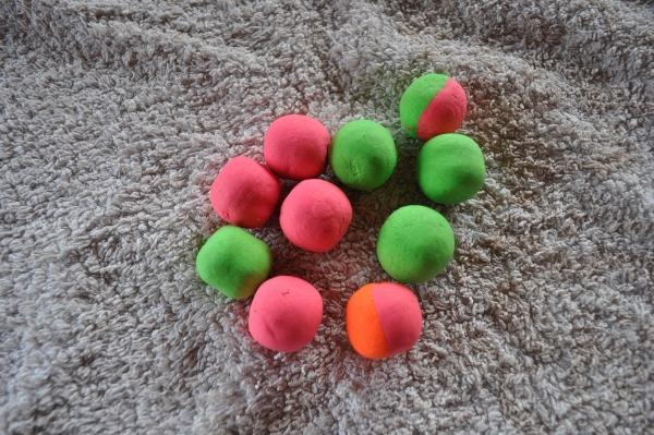 Meine 3 Lieblingsfarben, Grün, Pink und Orange