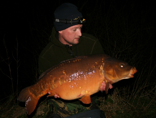 One mirror became two with this 24lb fish coming to the net