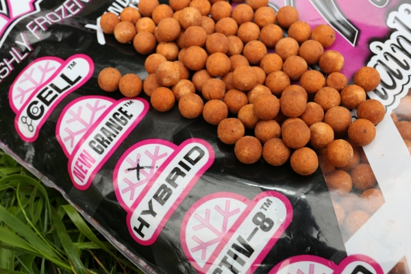 Dedicated 'food source' baits from Mainline just get better and better the longer you use them whatever the time of year