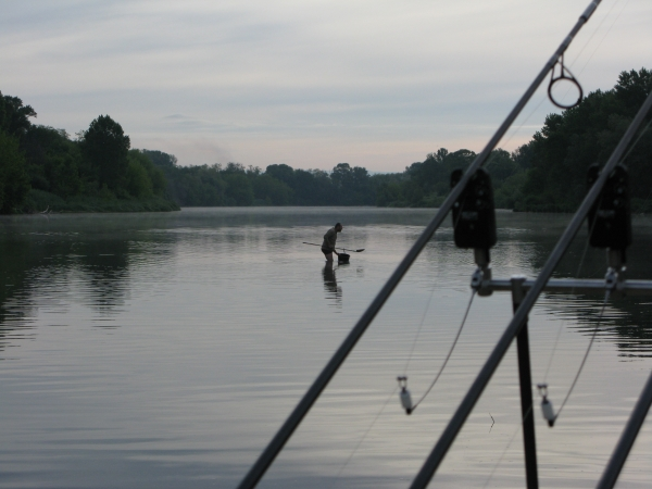 Regular baiting and keeping the scent in the water will keep the fish interested and bring others into the zone.