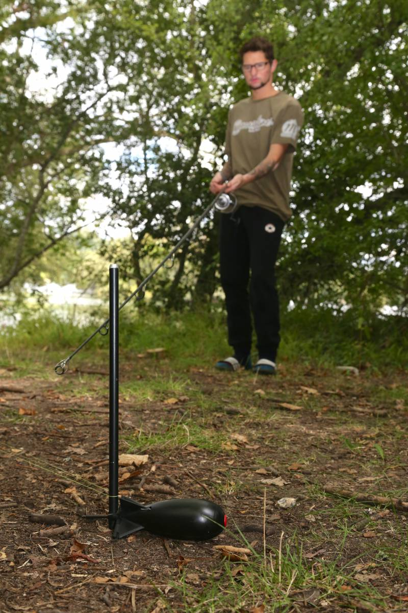 The two-bankstick-trick is the best way of clipping-up your rods accurately to the same spot
