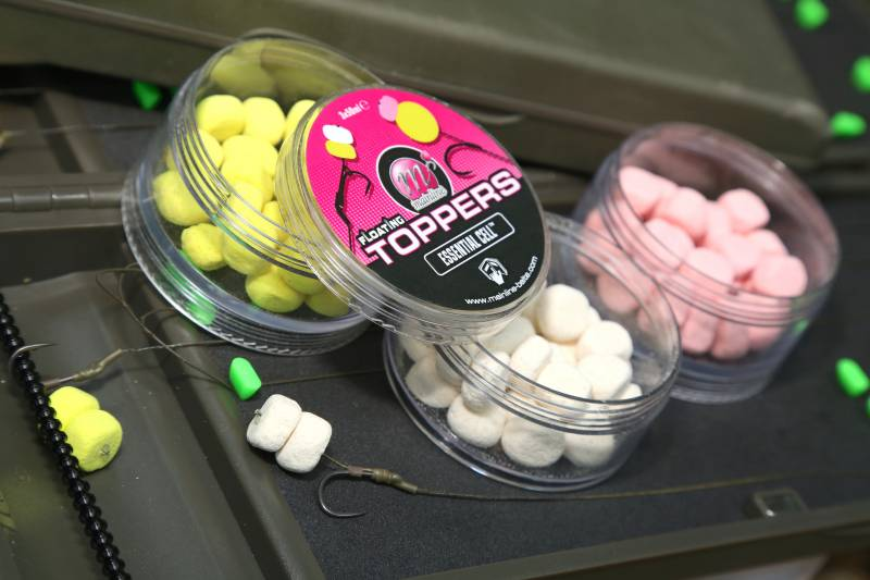 Bright and buoyant - for me these Toppers form the ideal Method feeder fishing hookbait