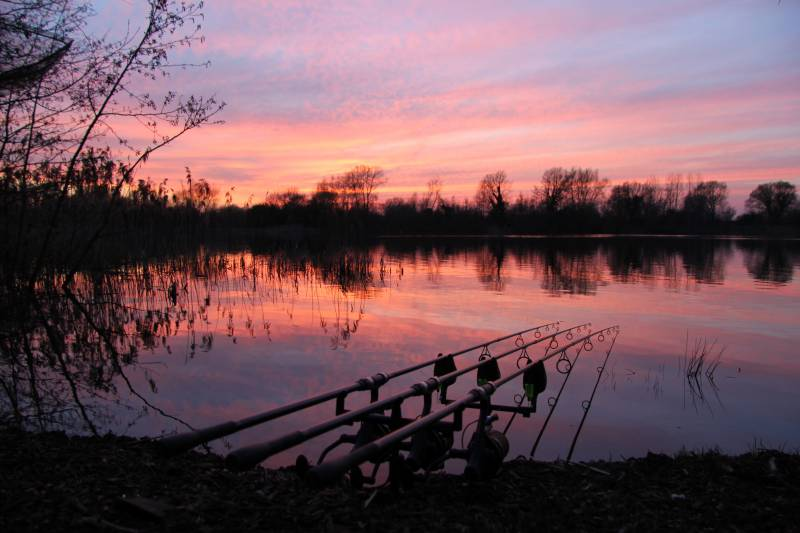 Zigs out just before last light until a nocturnal recast back to bottom baits ready for first light