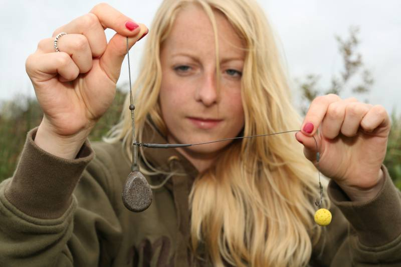 A Helicopter lead set-up is great for preventing tangles and fishing over silt