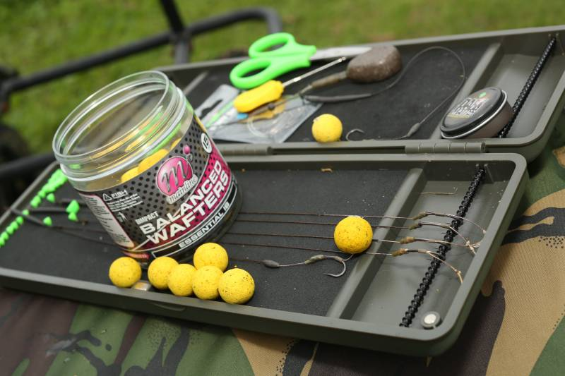Balanced Wafters keep my rigs simple yet effective